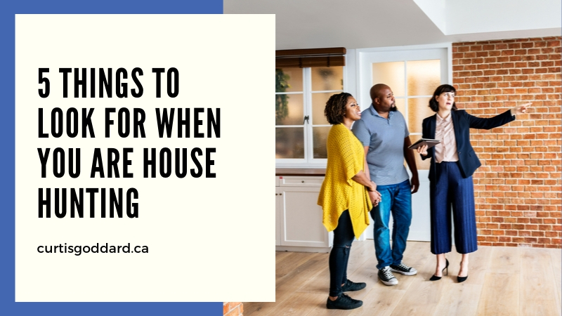 5 Things to Look for When You Are House Hunting