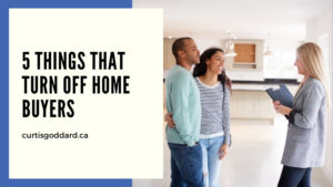 5 Things That Turn Off Home Buyers