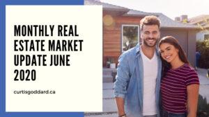 MONTHLY REAL ESTATE MARKET UPDATE JUNE 2020