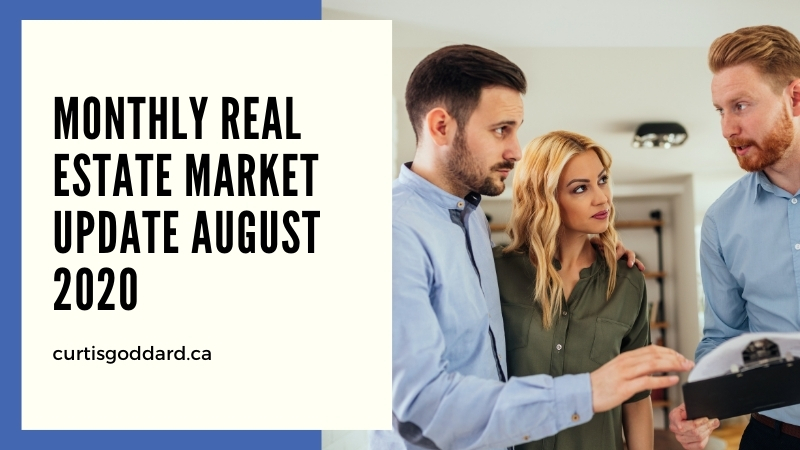 Monthly Real Estate Market Update August 2020